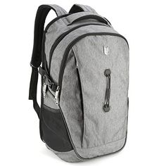 173inch Laptop Backpack  Evecase School College Backpack for Laptop  chromebook  Ultrabook up to 173inch  Gray *** ** AMAZON BEST BUY **