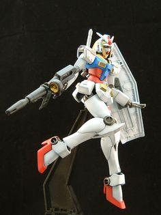 "Custom Build: HGFC 1/144 Nobell Gundam ""EFSF Ver. Federal white devil"" - Gundam Kits Collection News and Reviews"
