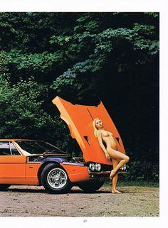 mostly cars, mostly alfas († Hot Rods, Lamborghini Espada, Lamborghini Cars, Ferrari, Car Girls, Girl Car, Love Car, Us Cars, How To Pose