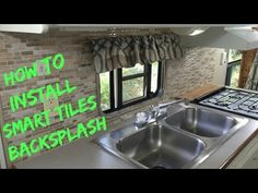 We installed the Smart Tiles in our Travel Trailer. Watch as we install the backspash from start to finish. ************************************** Visit our ...