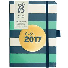 Buy Busy B 2017 Stripe To Do Diary Online at johnlewis.com