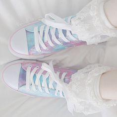 Imagem de shoes, converse, and pastel