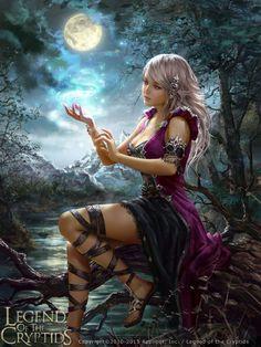 Legend of the Cryptids - Suncaller Cifona by anotherwanderer on DeviantArt