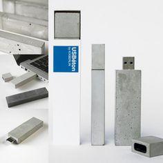 USBéton - a concrete USB stick by KixBerlin.