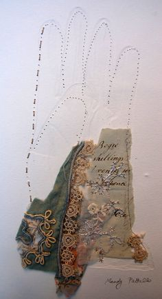 gloves for maiden's garlands - love this concept - Mandy Pattullo