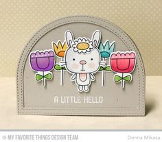 Hello, and welcome to MFT's April Release Countdown !  This month, there's lots of springtime cuteness, and Day 5 starts off with  Spr...