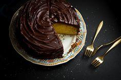 orange olive oil chocolate cake