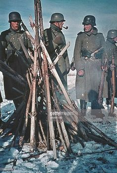 Eastern front winter 1941—1942 German troops carried no winter gear with them in their invasion of the Soviet Union.  The invasion scheduled for May did not occur until late June and cost the Nazis 6 more weeks of good weather.
