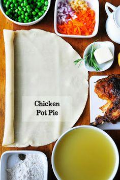 Individual Chicken Pot Pies | Simply Gourmet
