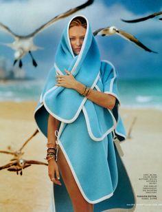 Marie Claire US June 2014 | Candice Swanepoel by Elina Kechicheva