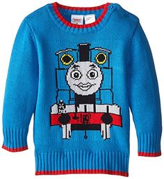 Disney Baby Baby Boys Thomas The Tank Sweater Blue 24 Months *** Check this awesome product by going to the link at the image.