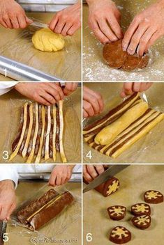 different cookie recipes – women - Kekse Biscotti Cookies, Yummy Cookies, Shortbread Cookies, Icebox Cookies, Almond Cookies, Chocolate Cookies, Checkered Cake, Bread Shaping, Food Decoration