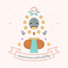 Carly Watts Illustration: Zenyatta and Pachimari #zenyatta #illustration #overwatch #cute