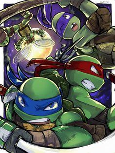 Turtle Power! by Tamago45 on deviantART