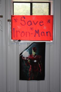 "#thor #ironman #hulk #captainamerica #4thbirthday #birthday #karter #avengers #assemble #avengersassemble #boybirthdayparty #partyideas #superhero #partygames  We got an Iron Man poster with round circles and we used it just like you would ""Pin the Tail on the donkey."""