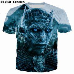 700cfc8e3 PLstar Cosmos TV Game of Thrones Design summer t-shirt Men Women Cool t  shirt harajuku style casual O-Neck Tee shirts