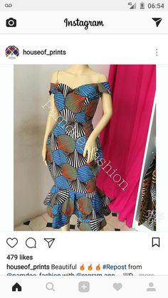 Etnia. Ankara Styles For Women, Kente Styles, African Dresses For Women, African Attire, African Wear, African Fashion Dresses, African Women, African Inspired Fashion, African Print Fashion