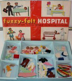 Fuzzy-felt hospital