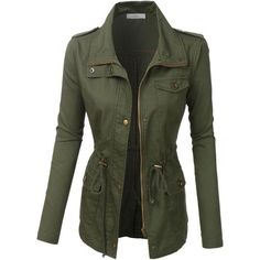 LE3NO Womens Anorak Utility Military Jacket (83 BRL) ❤ liked on Polyvore featuring outerwear, jackets, coats, coats & jackets, tops, army utility jacket, anorak coat, field jacket, lightweight field jacket and anorak jackets