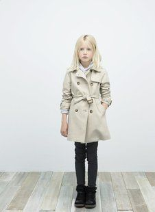 Belted Trench Coat by Zara
