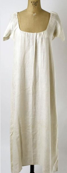 18th century French chemise MET