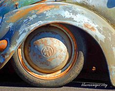 Old Car Photography, VW Bugs, Old Cars