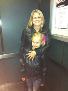 Me and my daughter Ashley at the Justin Beiber  concert