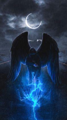 Mystic Angel iPhone Wallpaper - iPhone Wallpapers