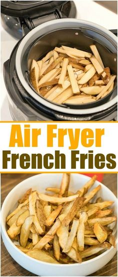Ninja Foodi french fries are easy to make in your new air fryer and pressure cooker machine! Healthy and homemade potato wedges done in no time for dinner. Air Fry French Fries, Making French Fries, French Fries Recipe, Homemade Potato Wedges, Homemade Fries, Homemade French Fries, Lunch Recipes, Cooking Recipes, Potato Recipes