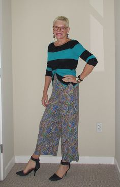 What Jeanne Wore: Transitional Outfit - Two Take on Style