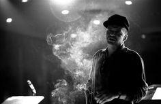Frank Sinatra in rehearsal, Las Vegas, 1965.