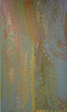 """Emily Kame Kngwarreye """" Alalgura Landscape 11"""""""