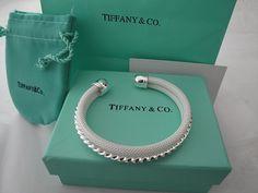 "Tiffany and Co. diamond and platinum bracelet ""garland collection"" #jewelry #jewellery Tiffany #Tiffany"