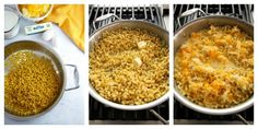 Cooking Homemade Mac and Cheese