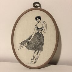 Memorial Stitchesis the brainchild of Carrie Violet, an English artist whose embroideries are inspired by the renowned illustratorEdward Gorey.
