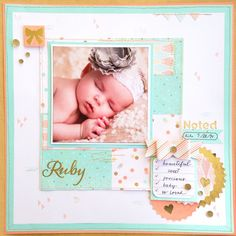 The Year >> Noted paper kit is the only thing cute enough for this picture. Get it before January is gone!