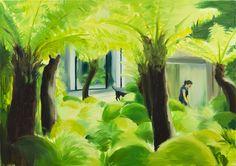 Caroline Walker painting