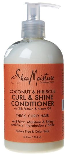 Shea Moisture Coconut Hibiscus Curl and Shine Conditioner 13 Ounce (Pack Of 2) >>> This is an Amazon Affiliate link. Continue to the product at the image link.