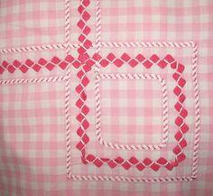 Rickrack tablecloth