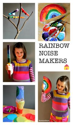 How to make homemade noise makers :: DIY musical instruments kids can make