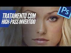 PHOTOSHOP CC (TRATAMENTO DE IMAGEM COM HIGH-PASS INVERTIDO) - YouTube