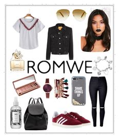 """""""😩😩😩"""" by robbieandhunter ❤ liked on Polyvore featuring adidas, Kate Spade, Victoria Beckham, Witchery, Jessica Carlyle, ChloBo, Urban Decay, R+Co, Marc Jacobs and Balenciaga"""
