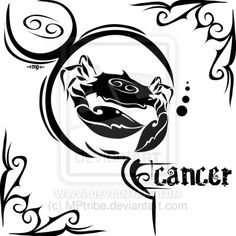 Zodiac Sign Tattoo : Cancer by MPtribe on DeviantArt
