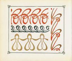 surface fragments: Art Nouveau Pattern Book