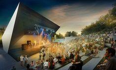 Leisure and relax centre Rača, Bratislava, Slovakia, design by Vallo & Sadovsky Architecture