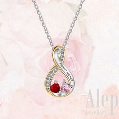 Personalized gifts for women, personalized name necklace , personalize birthstone necklace, silver necklace for women, personalized gifts for her, personalized gift ideas Free delivery worldwide 🌐 #personalizedgifts Personalized Gifts For Her, Personalized Necklace, Silver Bow, Silver Bracelets, Double Earrings, Engraved Jewelry, Birthstone Necklace, Name Necklace, Mother Gifts