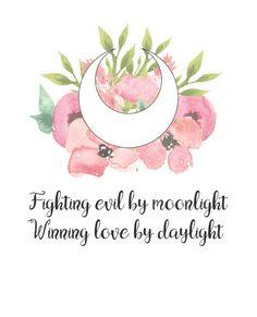 Fighting Evil by Moonlight Winning Love by Daylight by ShemioShop