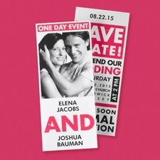 Our Special Event Save the Date Card
