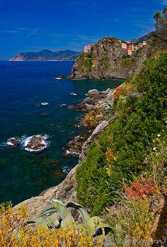 View from Via del Amore - Cinque Terre, Italy