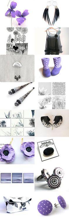 A thousand of Iris flowers! by Suomii Fabrics on Etsy--Pinned with TreasuryPin.com